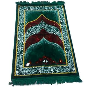 soft and fluffy carpet for prayer rooms or prayer place comes with two color purple or green