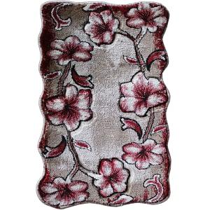 Doormat oazis Size 50 x 75 cm color maroon design A609A