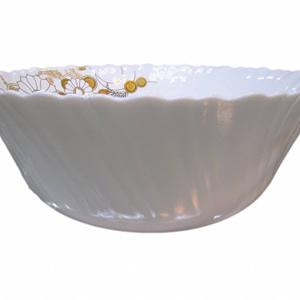 Bowl 10.5cm white and flower m