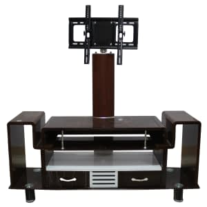 Tv rack brown