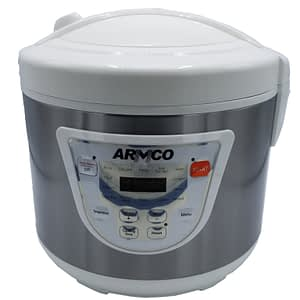 Rice Cooker & Fryer ARMCO ARC-501XL - 2-in-1 - 4L - White & Silver