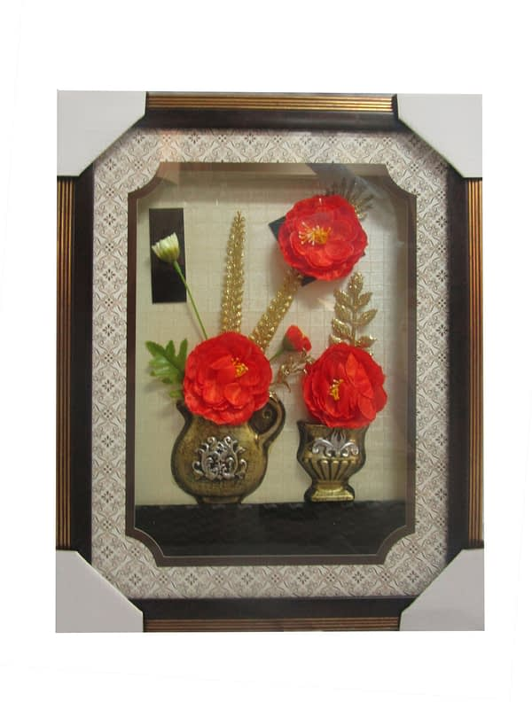 Flowered Picture Frames