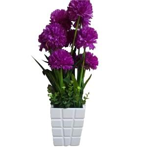 Flower decoration piece