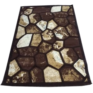 Rug Majestic color brown 160 by 200 D