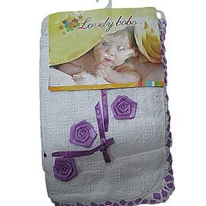 Baby blanket lovey bobo