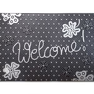 Welcome Doormat 45X75.43x68 rubber