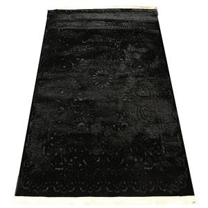 Rug Royal Silk 140 by 200cm black
