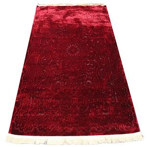 Rug Royal Silk 155 by 220 cm Color maroon