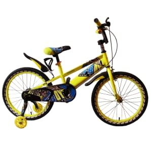 Bike size 20 tf boys with trainer wheel