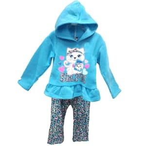 Baby clothes new design hood jacket and trouser