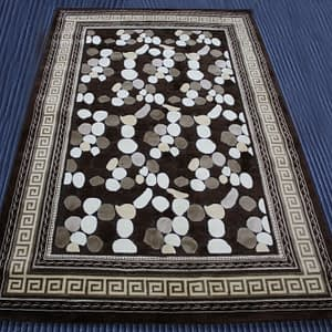 Rug Platinum 160 by 230 cm brown color