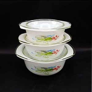 bowl 3 pcs set for microwave