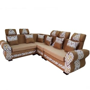 L Shaped sofa set 6 seater