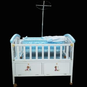 Baby bed with swing crib No: y 2076-19
