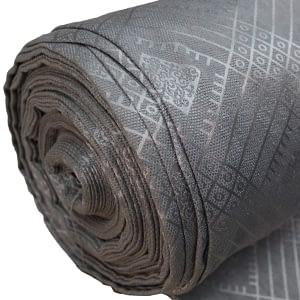 Grey heavy Curtain Material