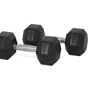 dumbbell 10 kg hexagon
