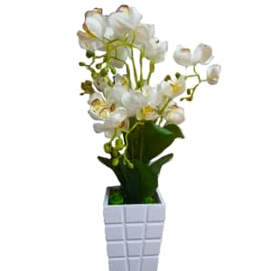 Flower decoration for top wall unit